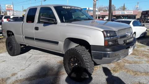 2004 Chevrolet Silverado 1500 for sale at RICKY'S AUTOPLEX in San Antonio TX