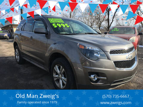 2010 Chevrolet Equinox for sale at Old Man Zweig's in Plymouth Township PA