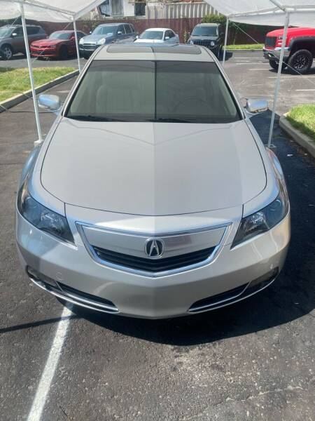 2012 Acura TL for sale at The Car-Mart in Murray UT