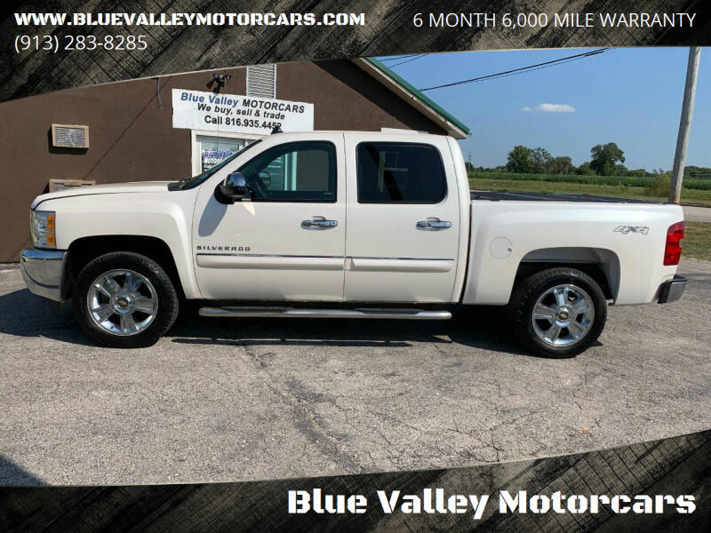 2012 Chevrolet Silverado 1500 for sale at Blue Valley Motorcars in Stilwell KS