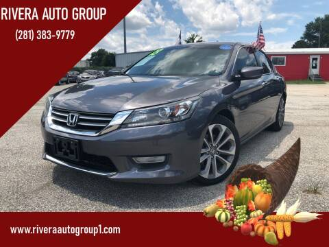 2013 Honda Accord for sale at Rivera Auto Group in Spring TX