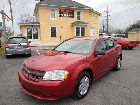 2008 Dodge Avenger for sale at Top Gear Motors in Winchester VA