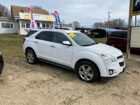 2015 Chevrolet Equinox for sale at Hillside Motor Sales in Coldwater MI