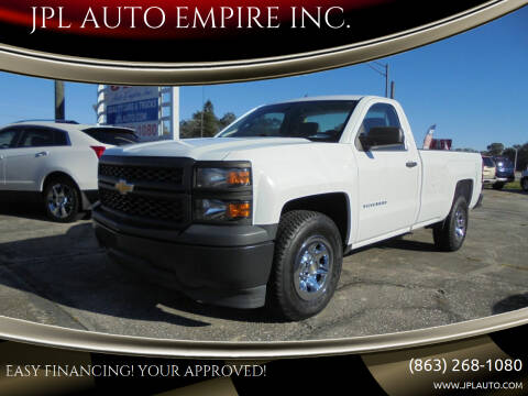 2015 Chevrolet Silverado 1500 for sale at JPL AUTO EMPIRE INC. in Auburndale FL