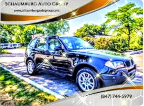 2004 BMW X3 for sale at Schaumburg Auto Group in Schaumburg IL