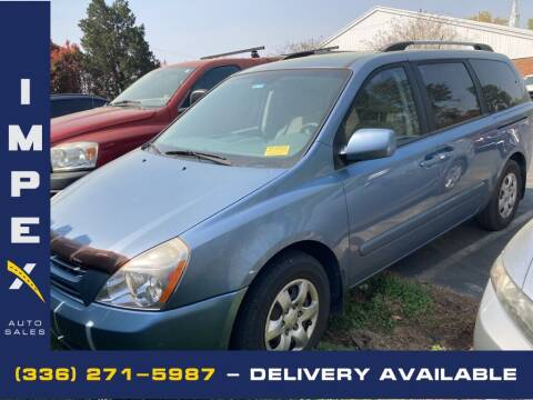 2009 Kia Sedona for sale at Impex Auto Sales in Greensboro NC