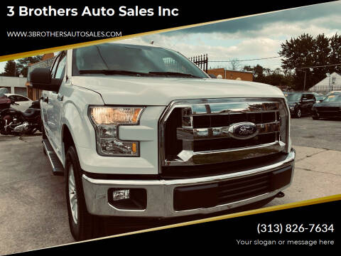 2017 Ford F-150 for sale at 3 Brothers Auto Sales Inc in Detroit MI