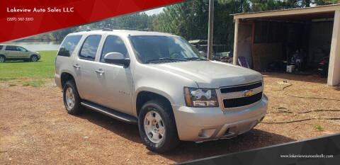 2007 Chevrolet Tahoe for sale at Lakeview Auto Sales LLC in Sycamore GA