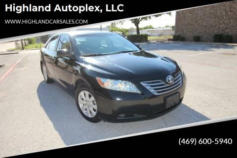 2009 Toyota Camry Hybrid for sale at Highland Autoplex, LLC in Dallas TX