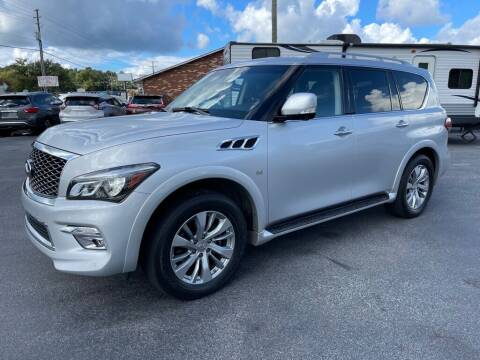 2015 Infiniti QX80 for sale at Modern Automotive in Boiling Springs SC
