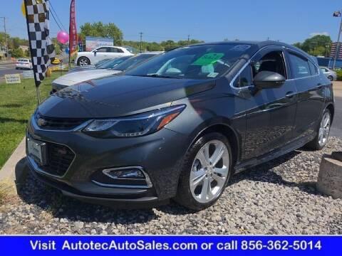 2017 Chevrolet Cruze for sale at Autotec Auto Sales in Vineland NJ