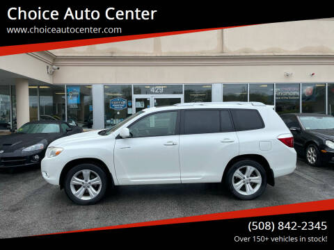 2008 Toyota Highlander for sale at Choice Auto Center in Shrewsbury MA