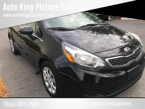 2013 Kia Rio for sale at Auto King Picture Cars in Westchester County NY
