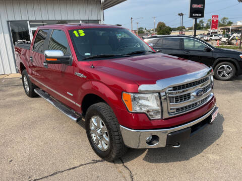 2013 Ford F-150 for sale at ROTMAN MOTOR CO in Maquoketa IA