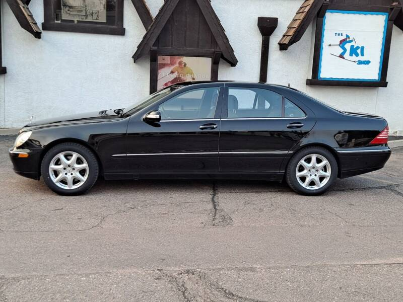 2004 Mercedes-Benz S-Class for sale at De Kam Auto Brokers in Colorado Springs CO
