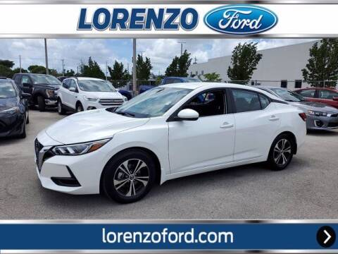 2021 Nissan Sentra for sale at Lorenzo Ford in Homestead FL