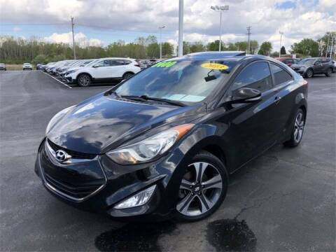 2013 Hyundai Elantra Coupe for sale at White's Honda Toyota of Lima in Lima OH