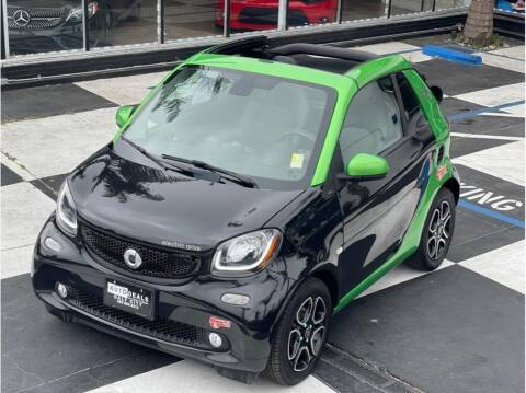 2018 Smart fortwo electric drive for sale at AutoDeals in Daly City CA