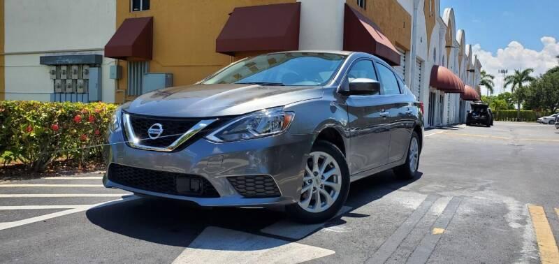2019 Nissan Sentra for sale at POLLO AUTO SOLUTIONS in Miami FL