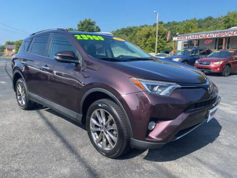 2016 Toyota RAV4 for sale at Elk Avenue Auto Brokers in Elizabethton TN