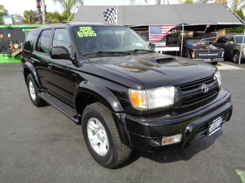 2001 Toyota 4Runner for sale at Pauls Auto in Whittier CA