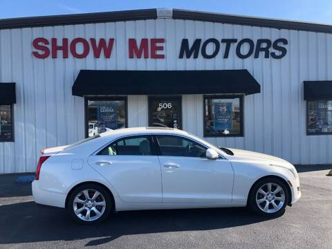 2013 Cadillac ATS for sale at SHOW ME MOTORS in Cape Girardeau MO
