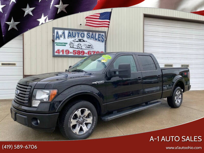 2011 Ford F-150 for sale at A-1 AUTO SALES in Mansfield OH