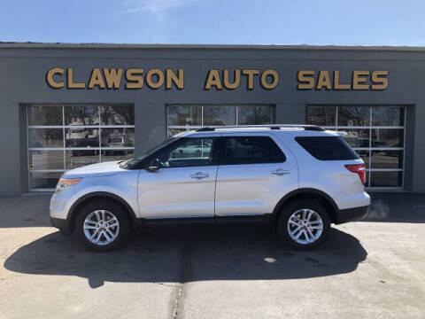 2011 Ford Explorer for sale at Clawson Auto Sales in Clawson MI