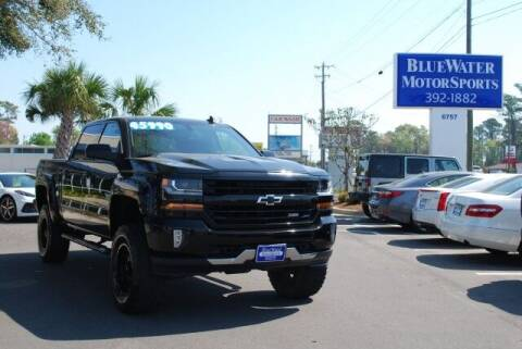 2018 Chevrolet Silverado 1500 for sale at BlueWater MotorSports in Wilmington NC