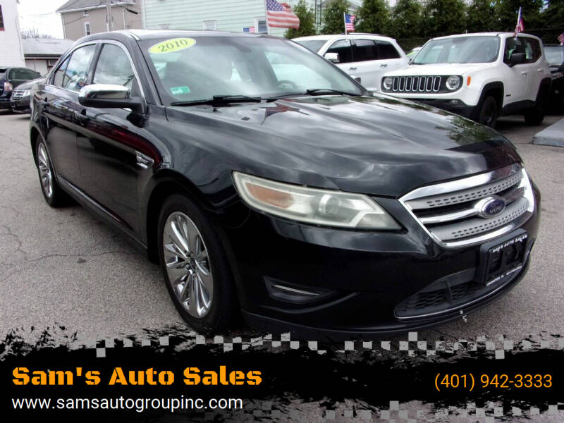 2010 Ford Taurus for sale at Sam's Auto Sales in Cranston RI