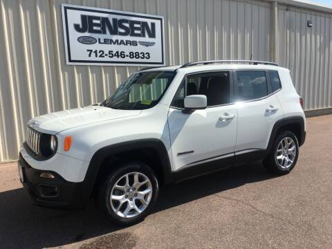 2018 Jeep Renegade for sale at Jensen's Dealerships in Sioux City IA