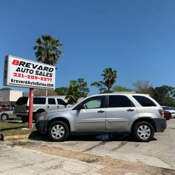 2005 Chevrolet Equinox for sale at Brevard Auto Sales in Palm Bay FL