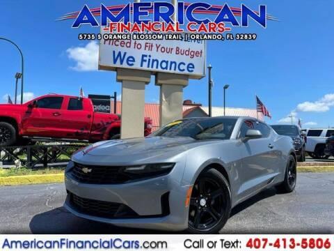2020 Chevrolet Camaro for sale at American Financial Cars in Orlando FL