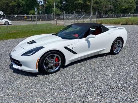 2014 Chevrolet Corvette for sale at F & A Corvette in Colonial Beach VA