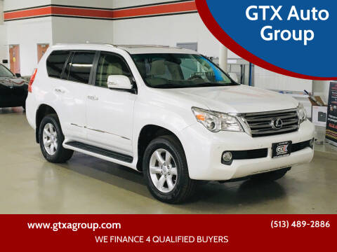 2012 Lexus GX 460 for sale at GTX Auto Group in West Chester OH