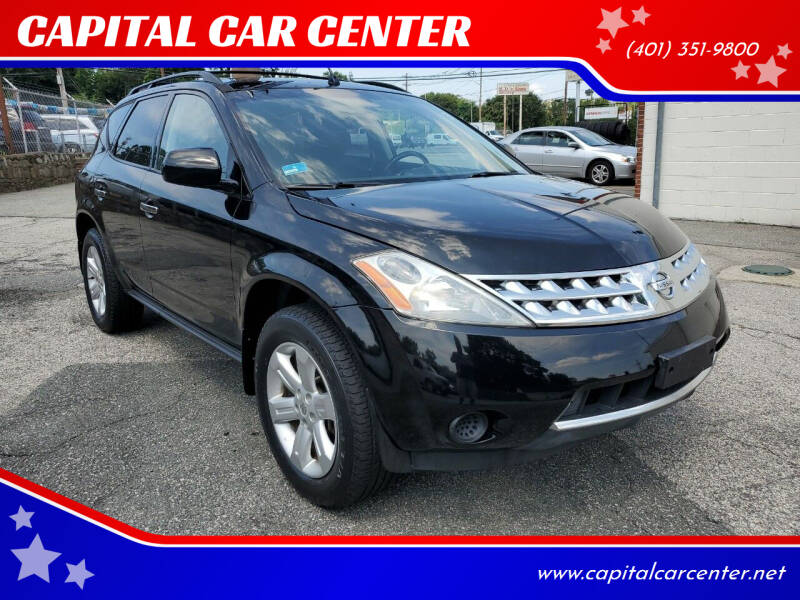 2007 Nissan Murano for sale at CAPITAL CAR CENTER in Providence RI