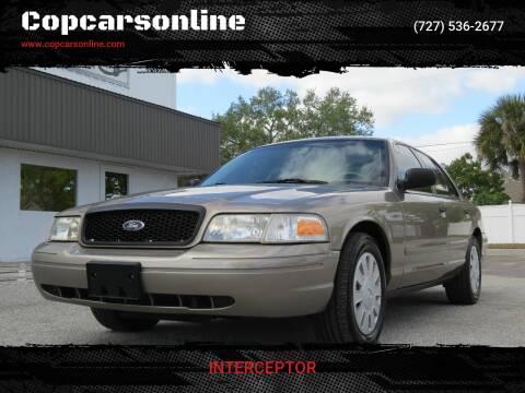 2007 Ford Crown Victoria for sale at Copcarsonline in Largo FL