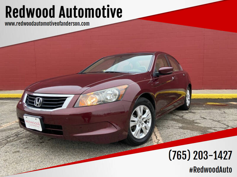 2008 Honda Accord for sale at Redwood Automotive in Anderson IN