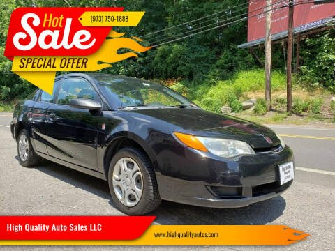 2004 Saturn Ion for sale at High Quality Auto Sales LLC in Bloomingdale NJ