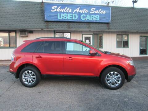 2008 Ford Edge for sale at SHULTS AUTO SALES INC. in Crystal Lake IL