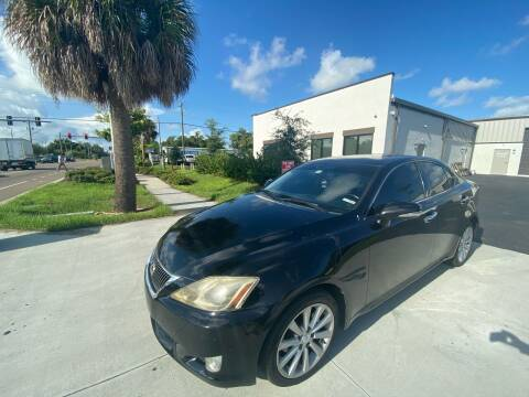 2010 Lexus IS 250 for sale at Bay City Autosales in Tampa FL