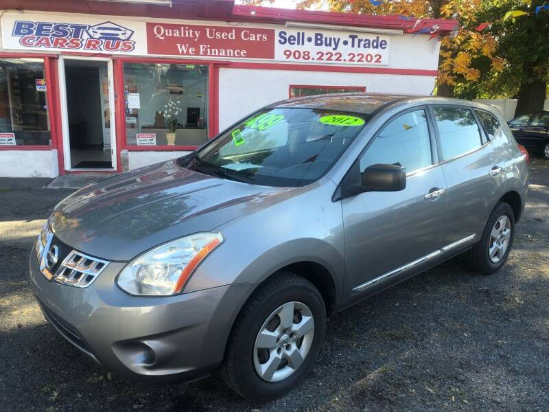 2012 Nissan Rogue for sale at Best Cars R Us in Plainfield NJ
