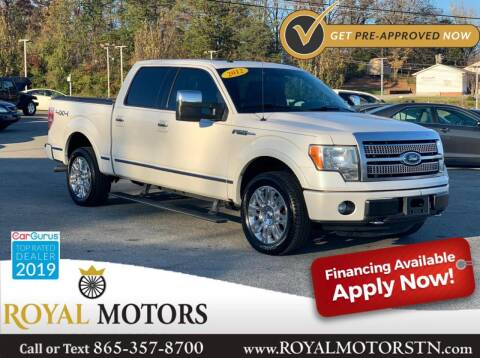 2012 Ford F-150 for sale at ROYAL MOTORS LLC in Knoxville TN
