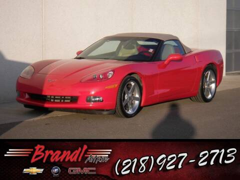 2005 Chevrolet Corvette for sale at Brandl GM in Aitkin MN