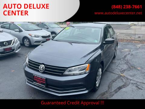 2016 Volkswagen Jetta for sale at AUTO DELUXE CENTER in Toms River NJ
