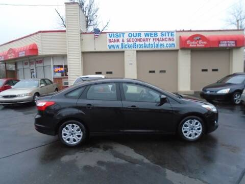 2012 Ford Focus for sale at Bickel Bros Auto Sales, Inc in Louisville KY