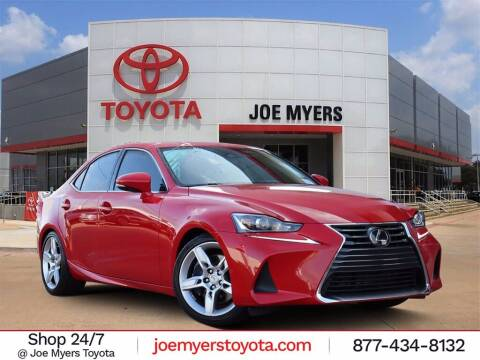 2019 Lexus IS 300 for sale at Joe Myers Toyota PreOwned in Houston TX