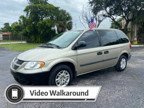 2006 Dodge Caravan for sale at Alma Car Sales in Miami FL