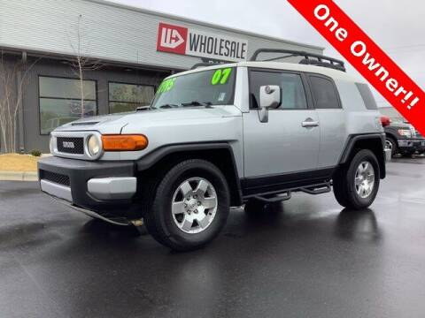 2007 Toyota FJ Cruiser for sale at Wholesale Direct in Wilmington NC