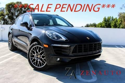 2017 Porsche Macan for sale at Zen Auto Sales in Sacramento CA